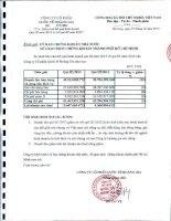Báo cáo tài chính quý 3 năm 2013 - Công ty Cổ phần Quốc tế Hoàng Gia