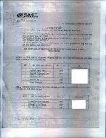 Nghị quyết Hội đồng Quản trị - Công ty Cổ phần Ðầu tư Thương mại SMC