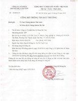 Nghị quyết Hội đồng Quản trị - Công ty cổ phần Bao bì Nhựa Sài Gòn