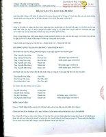 Báo cáo tài chính quý 2 năm 2014 (đã soát xét) - Công ty Cổ phần Xi măng Sài Sơn