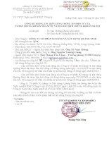 Nghị quyết Hội đồng Quản trị - Công ty Cổ phần Xi măng và Xây dựng Quảng Ninh