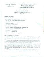 Báo cáo thường niên năm 2014 - Công ty Cổ phần Sông Đà 19