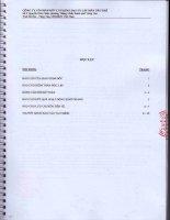 Báo cáo tài chính năm 2014 (đã kiểm toán) - Công ty Cổ phần Kết cấu Kim loại và Lắp máy Dầu khí