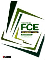 Richmond FCE practice tests TB