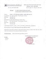 Báo cáo tài chính hợp nhất quý 1 năm 2014 - Công ty Cổ phần Mía đường Nhiệt điện Gia Lai