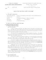 Báo cáo thường niên năm 2007 - Công ty Cổ phần Lương thực Thực phẩm Safoco