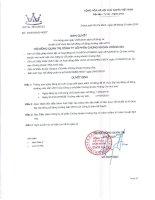 Nghị quyết Hội đồng Quản trị - Công ty cổ phần Chứng khoán Hoàng Gia