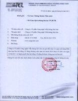 Nghị quyết Đại hội cổ đông thường niên năm 2011 - Công ty Cổ phần Công nghệ Viễn thông Sài Gòn