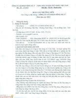 Báo cáo thường niên năm 2014 - Công ty cổ phần Sông Đà 27