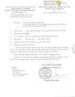 Báo cáo tài chính hợp nhất quý 2 năm 2014 (đã soát xét) - Tổng Công ty Cổ phần Dịch vụ Kỹ thuật Dầu khí Việt Nam