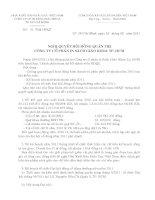 Nghị quyết Hội đồng Quản trị ngày 30-03-2011 - Công ty Cổ phần In Sách giáo khoa tại Tp.Hồ Chí Minh
