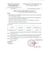 Báo cáo tài chính công ty mẹ quý 3 năm 2015 - Công ty Cổ phần Sông Đà 11