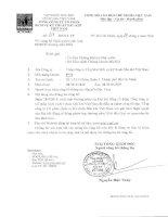 Nghị quyết Đại hội cổ đông thường niên - Tổng Công ty Cổ phần Dịch vụ Kỹ thuật Dầu khí Việt Nam
