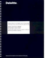 Báo cáo tài chính công ty mẹ quý 2 năm 2011 (đã soát xét) - Tổng công ty Cổ phần Vận tải Dầu khí
