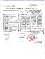 Báo cáo tài chính quý 4 năm 2014 - Công ty Cổ phần Xuất nhập khẩu Tổng hợp I Việt Nam