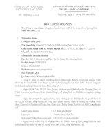 Báo cáo thường niên năm 2013 - Công ty Cổ phần Sách và Thiết bị trường học Quảng Ninh