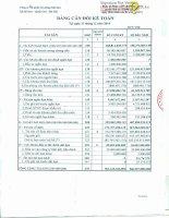 Báo cáo tài chính quý 14 năm 2014 - Công ty Cổ phần Xi măng Sài Sơn