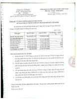 Báo cáo tài chính quý 4 năm 2013 - Công ty Cổ phần Quốc tế Hoàng Gia