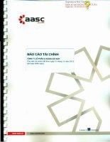 Báo cáo tài chính năm 2013 (đã kiểm toán) - Công ty Cổ phần Xi măng Sài Sơn