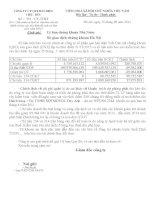 Báo cáo tài chính quý 2 năm 2014 (đã soát xét) - Công ty Cổ phần Que hàn điện Việt Đức