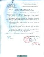 Báo cáo tài chính hợp nhất quý 3 năm 2015 - Công ty cổ phần Bia Thanh Hóa