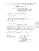 Nghị quyết Hội đồng Quản trị - Tổng công ty Cổ phần Vận tải Dầu khí