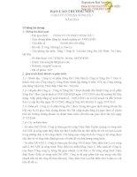 Báo cáo thường niên năm 2014 - Công ty Cổ phần Sông Đà 7