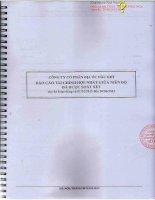 Báo cáo tài chính hợp nhất quý 2 năm 2012 (đã soát xét) - Công ty cổ phần Địa ốc Dầu khí