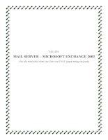 Tài liệu Mail Server Microsoft Exchange 2003