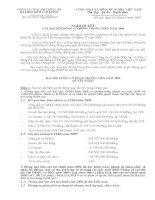 Nghị quyết đại hội cổ đông ngày 09-04-2009 - Công ty Cổ phần Xây lắp và Đầu tư Sông Đà