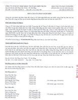 Báo cáo tài chính năm 2010 (đã kiểm toán) - Công ty Cổ phần Xuất nhập khẩu Thủy sản Miền Trung
