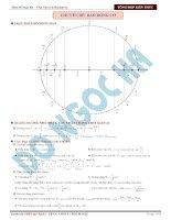 Hệ thống kiến thức vật lý trọng tâm 2016