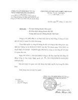 Nghị quyết Đại hội cổ đông thường niên năm 2011 - Công ty cổ phần Đầu tư và Phát triển Đô thị Sài Đồng