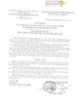 Nghị quyết Hội đồng Quản trị - Tổng Công ty cổ phần Xây lắp Dầu khí Việt Nam