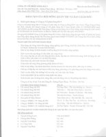 Báo cáo tài chính công ty mẹ năm 2008 (đã kiểm toán) - Công ty Cổ phần Sông Đà 9