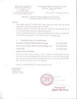 Báo cáo tài chính hợp nhất năm 2014 (đã kiểm toán) - Công ty Cổ phần Sông Đà 7