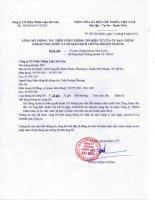 Nghị quyết Hội đồng Quản trị - Công ty Cổ phần Nhiên liệu Sài Gòn