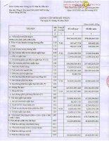 Báo cáo tài chính công ty mẹ quý 4 năm 2013 - Công ty cổ phần Địa ốc Dầu khí