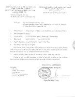 Báo cáo tài chính công ty mẹ quý 2 năm 2014 - Tổng Công ty Cổ phần Dịch vụ Kỹ thuật Dầu khí Việt Nam