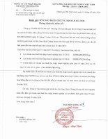 Báo cáo tài chính công ty mẹ quý 4 năm 2015 - Công ty Cổ phần Địa ốc Sài Gòn Thương Tín