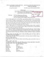 Nghị quyết Hội đồng Quản trị - Công ty Cổ phần Xi măng Sông Đà