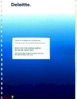 Báo cáo tài chính công ty mẹ quý 2 năm 2015 (đã soát xét) - Công ty Cổ phần Tư vấn Sông Đà