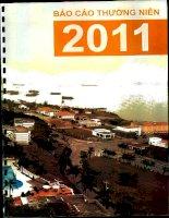 Báo cáo thường niên năm 2011 - Công ty Cổ phần Quốc tế Hoàng Gia