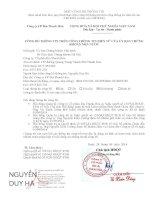 Nghị quyết Hội đồng Quản trị - Công ty cổ phần Bia Thanh Hóa
