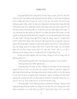 Xác định nhu cầu xây dựng, quản lý và phát triển nhãn hiệu tập thể Gốm Phù Lãng cho sản phẩm gốm của xã Phù Lãng, huyện Quế Võ, tỉnh Bắc Ninh