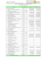 Báo cáo tài chính hợp nhất quý 1 năm 2014 - Công ty Cổ phần Sông Đà 1