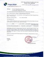 Báo cáo tài chính công ty mẹ quý 1 năm 2016 - Công ty cổ phần Hạ tầng nước Sài Gòn