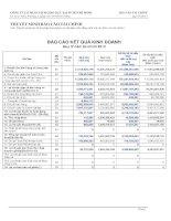 Báo cáo tài chính quý 4 năm 2013 - Công ty cổ phần Sách Giáo dục tại T.P Hồ Chí Minh