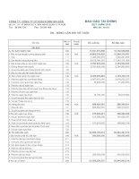 Báo cáo tài chính quý 1 năm 2016 - Công ty Cổ phần Khách sạn Sài Gòn