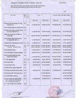 Báo cáo KQKD hợp nhất quý 2 năm 2012 - Công ty Cổ phần Quốc Cường Gia Lai